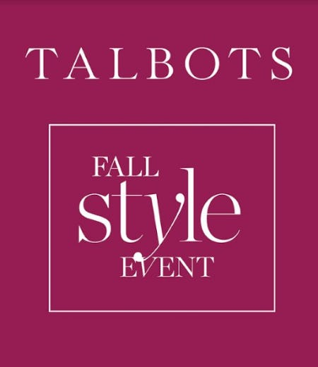 Fall Style Event from Talbots