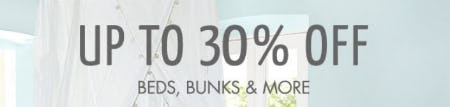 Up to 30% Off Beds, Bunks & More