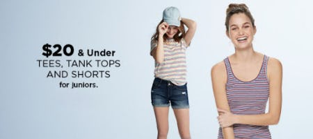 $20 & Under Tees and More from Kohl's