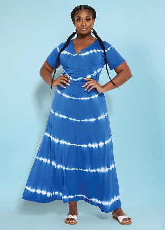 The Tie Dye Dress from Ashley Stewart
