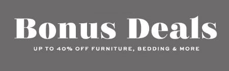 Up to 40% Off Bonus Deals from Pottery Barn
