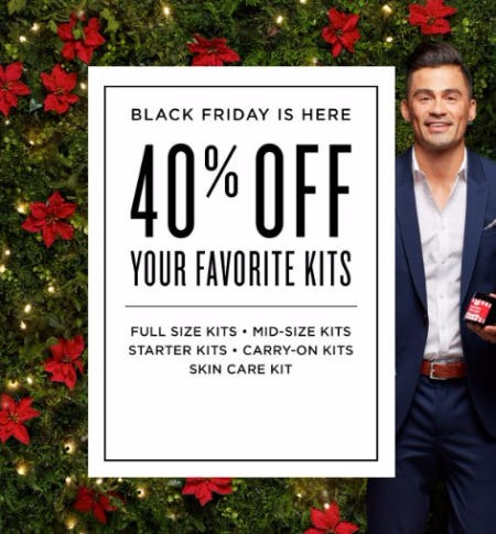 40% Off Your Favorite Kits