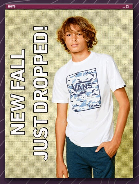 New Fall: Just Dropped