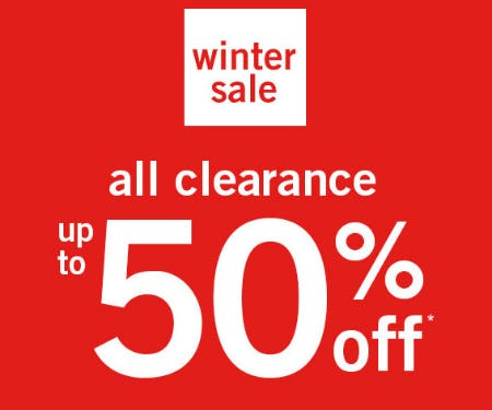 Up to 50% Off Winter Sale from Abercrombie Kids
