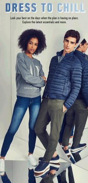 Dress to Chill from A|X Armani Exchange
