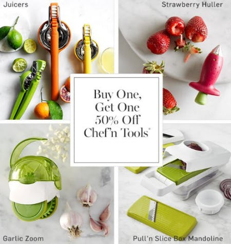 Buy One, Get One 50% Off Chef 'n Tools from Williams-Sonoma