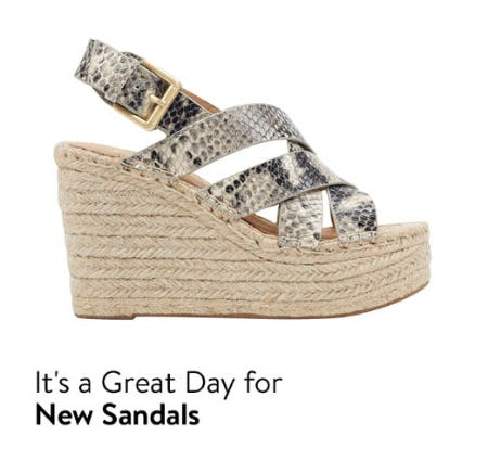 New Sandals In Your Size from Nordstrom