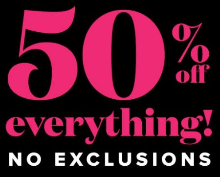 50% Off Everything from New York & Company