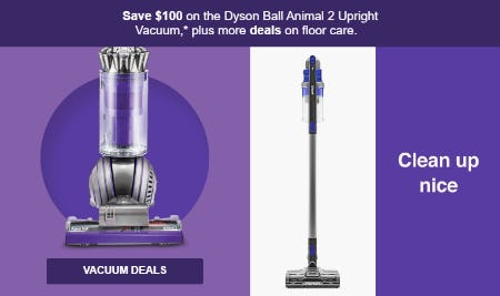 Vacuum Deals $100 from Target