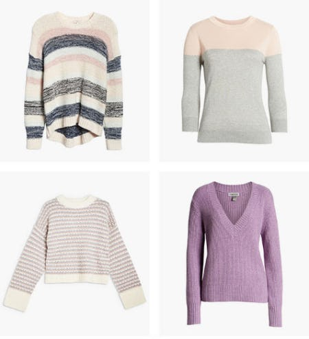 The Perfect Sweaters for In-Between Seasons from Nordstrom