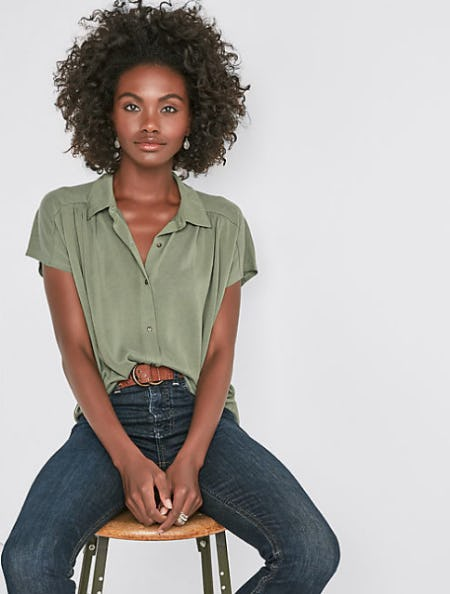 Sandwash Button Down from Lucky Brand Jeans