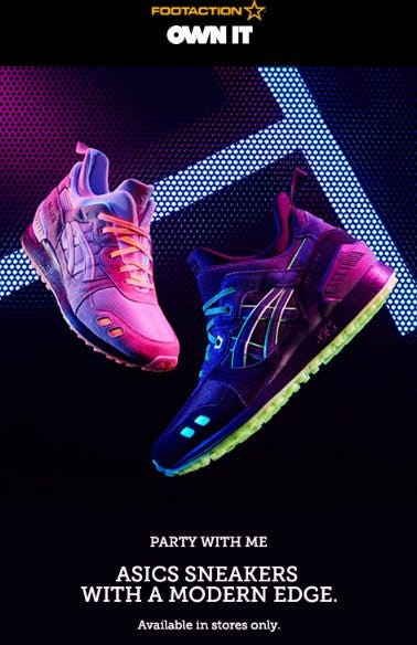 ASICS Sneakers With a Modern Edge