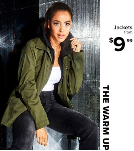 Jackets From $9.99 from Rainbow