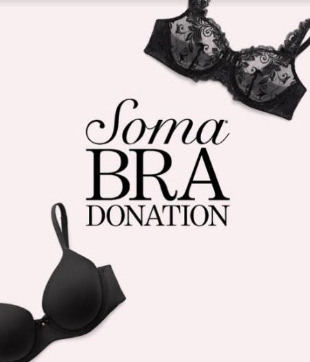 Bra Donation from Soma Intimates