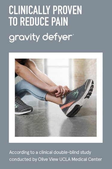 Reduce Pain & Stay Active With Gravity Defyer from The Walking Company