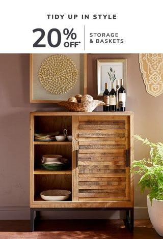 20% Off Storage & Baskets
