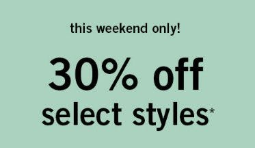 30% Off Select Styles from Abercrombie Kids
