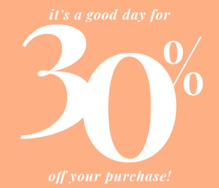 30% Off Your Purchase from PAPYRUS