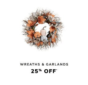 25% Off Wreaths & Garlands from Pier 1 Imports