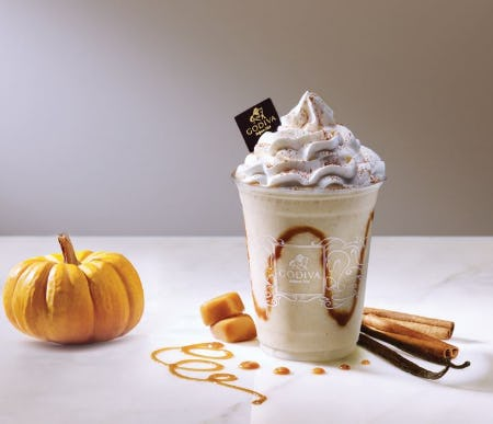 Pumpkin Chocolixir! New! from Godiva Chocolatier