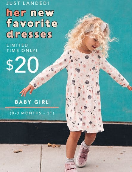 $20 Baby Girl Dresses from Gymboree