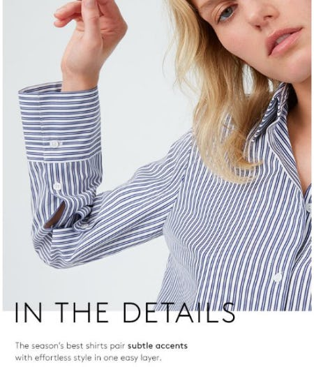 Discover The Fall Shirt Collection from Club Monaco