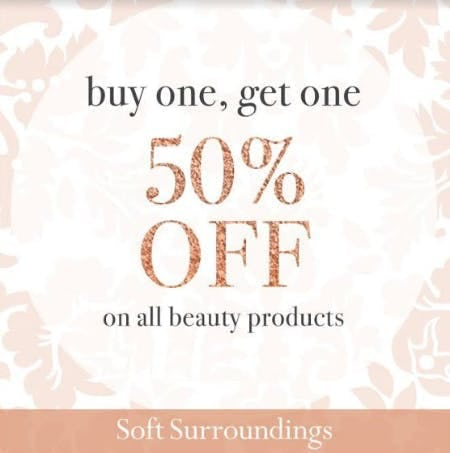 Beauty BOGO 50% Off