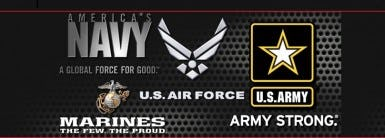 Armed Forces Career Center               Logo