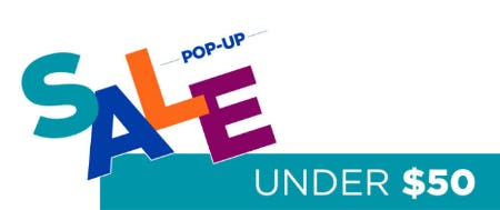 Under $50 Pop-Up Sale from Rack Room Shoes