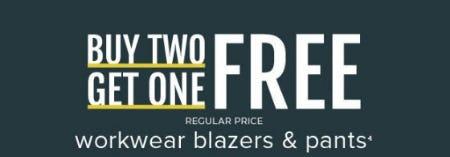 Buy Two, Get One Free Workwear Blazers & Pants from Torrid