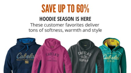 Save Up to 60% on Select Hoodies