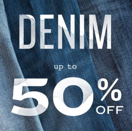 Denim up to 50% Off