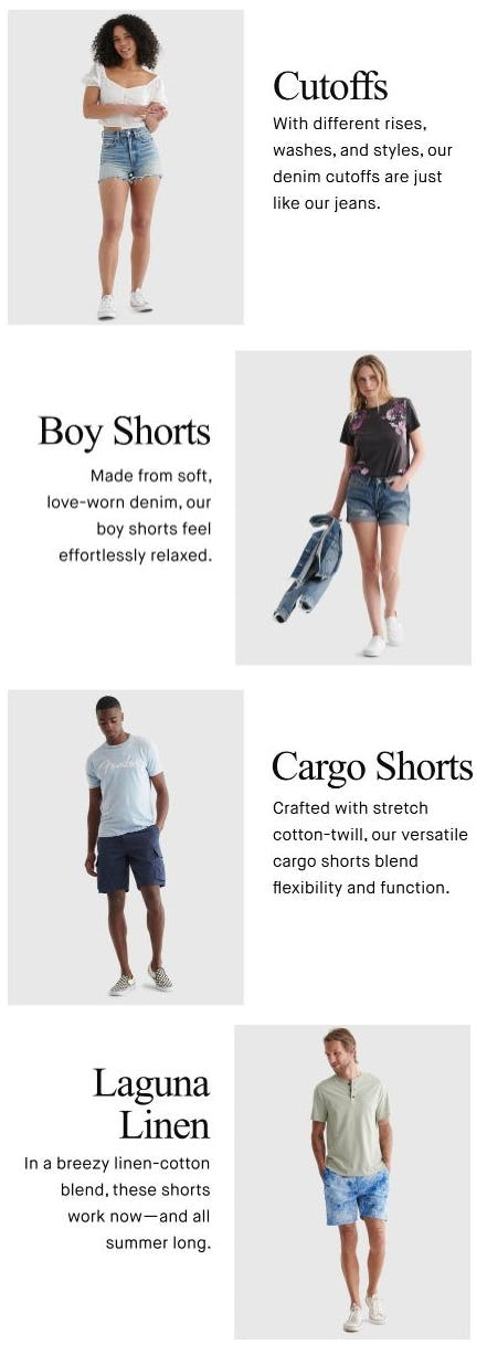 Wear-Anywhere Shorts from Lucky Brand Jeans