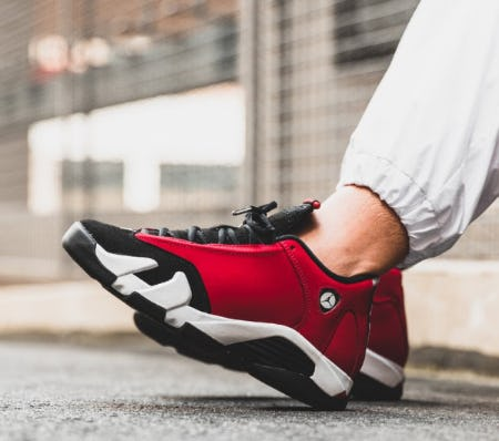 Air Jordan 14 'Gym Red' from DTLR