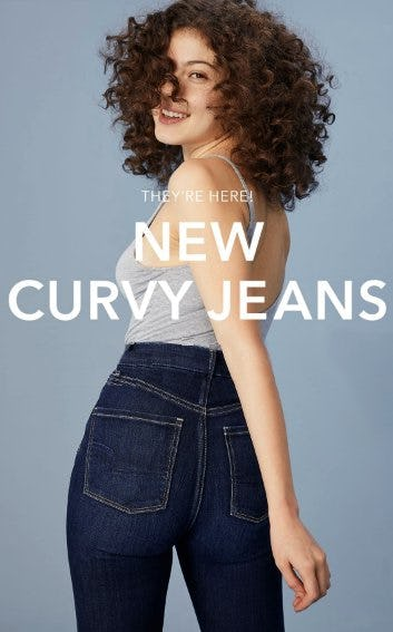 Stop Everything: Curvy Jeans are Here from American Eagle Outfitters
