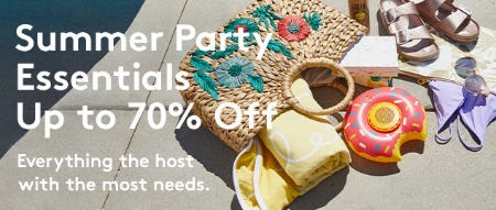 Up to 70% Off Summer Party Essentials from Nordstrom Rack