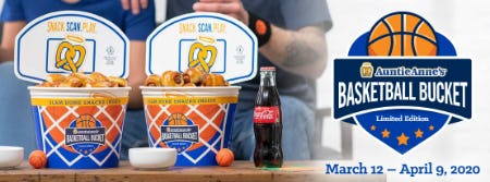 Buckets for Buckets at Auntie Anne's