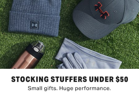 Stocking Stuffers Under $50 from Under Armour