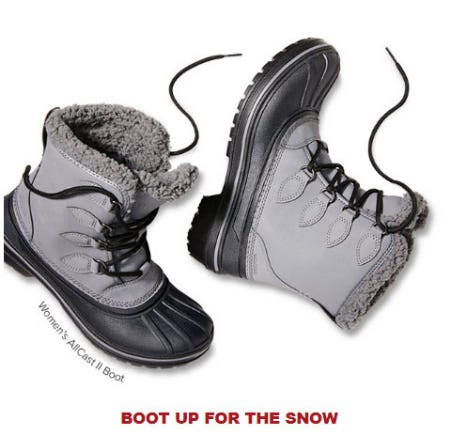 Boot Up For The Snow from Crocs