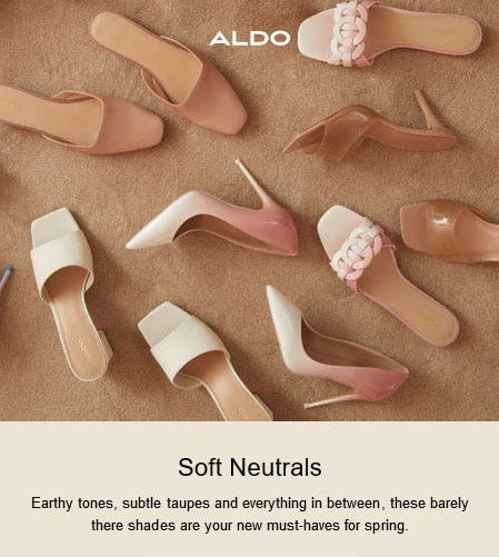 New Neutrals for Spring from ALDO