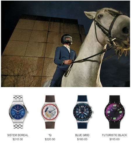 Treat your Dad on Father's Day from Swatch