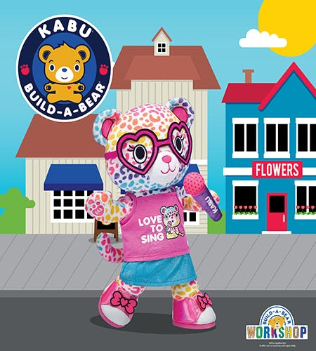 Catrina Is the Newest Kabu Friend at Build-A-Bear Workshop!®
