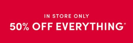 50% Off Everything from Torrid