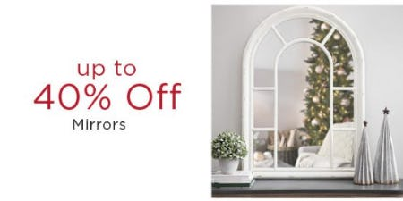 Up to 40% Off Mirrors from Kirkland's