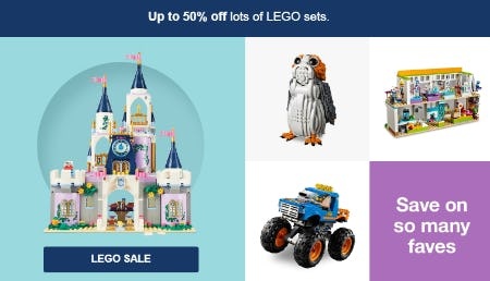 Up to 50% Off Lego Sale from Target