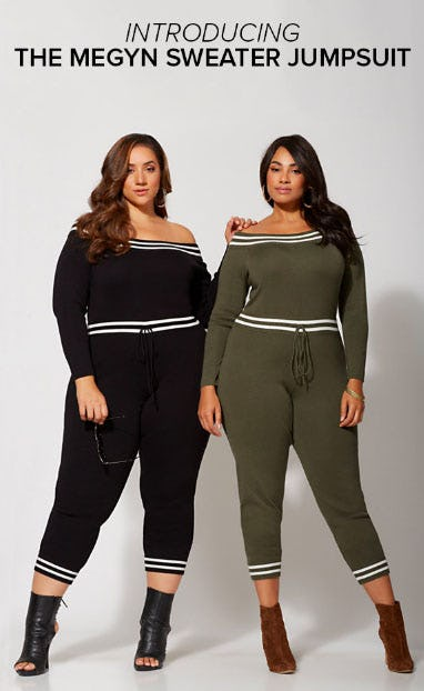 Introducing The Megyn Sweater Jumpsuit