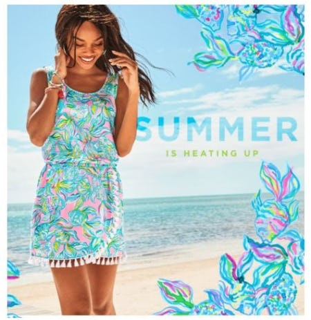 Rompers on the Rise from Lilly Pulitzer