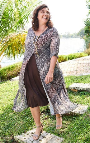 The Duet Dress from Catherines Plus Sizes