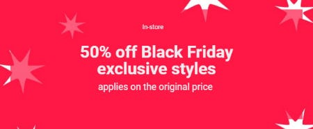 50% Off Black Friday Exclusive Styles from ALDO
