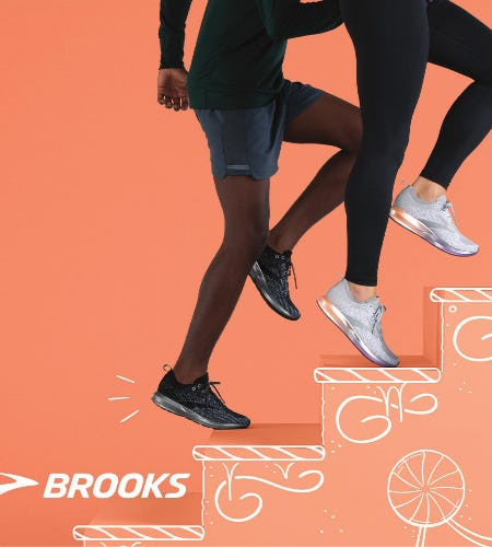 February is Brooks Month! from Tradehome Shoes